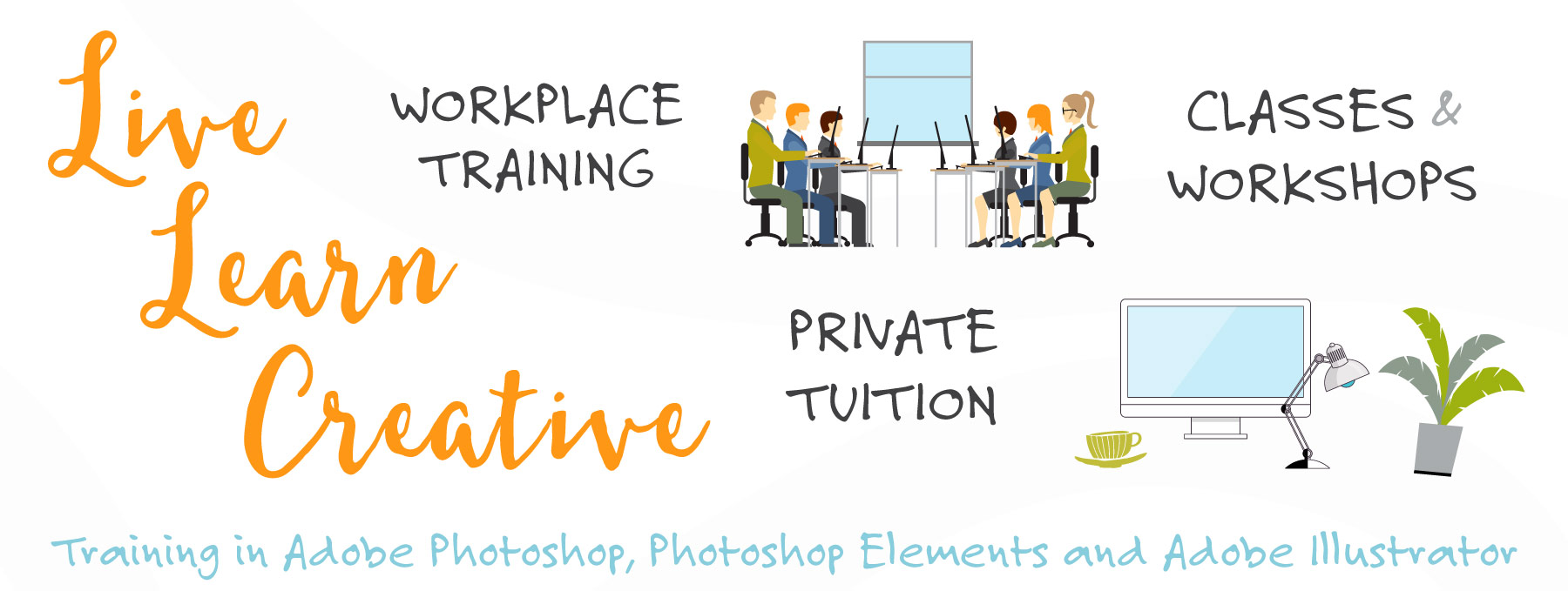 Photoshop and Illustrator Workplace Training, Private Tuition, Courses and Workshops_Live Learn Creative Sydney