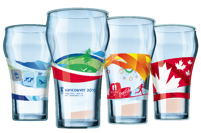 Olympic Collector Glass Set