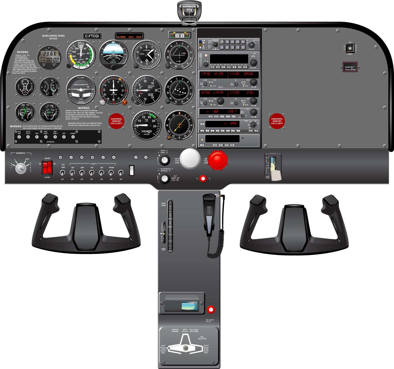 Cessna 172 R Full Cockpit