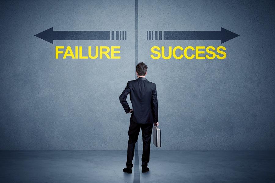 Success or failure at choosing medical schools