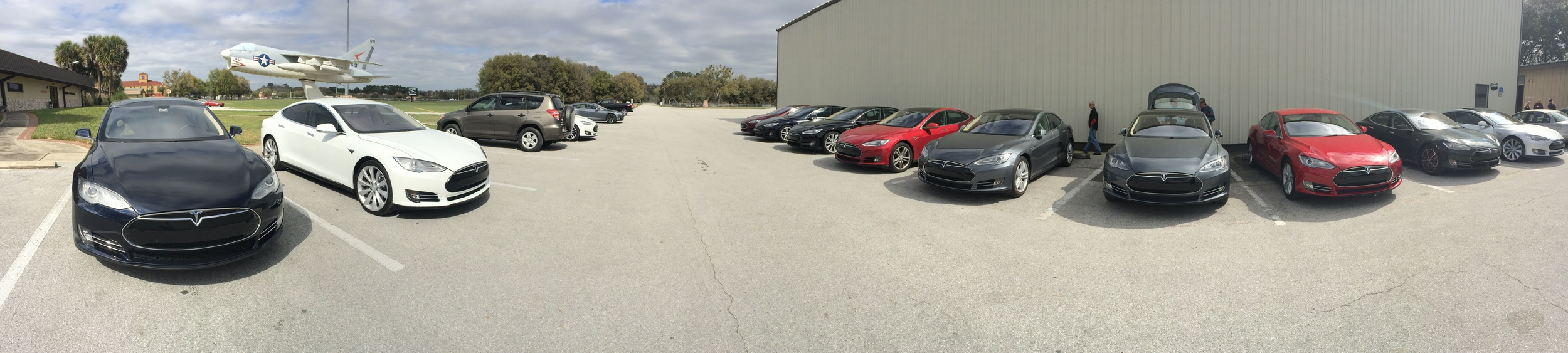 Model S Meetup at the Don Garlits Museum of Drag Racing in Ocala, Florida