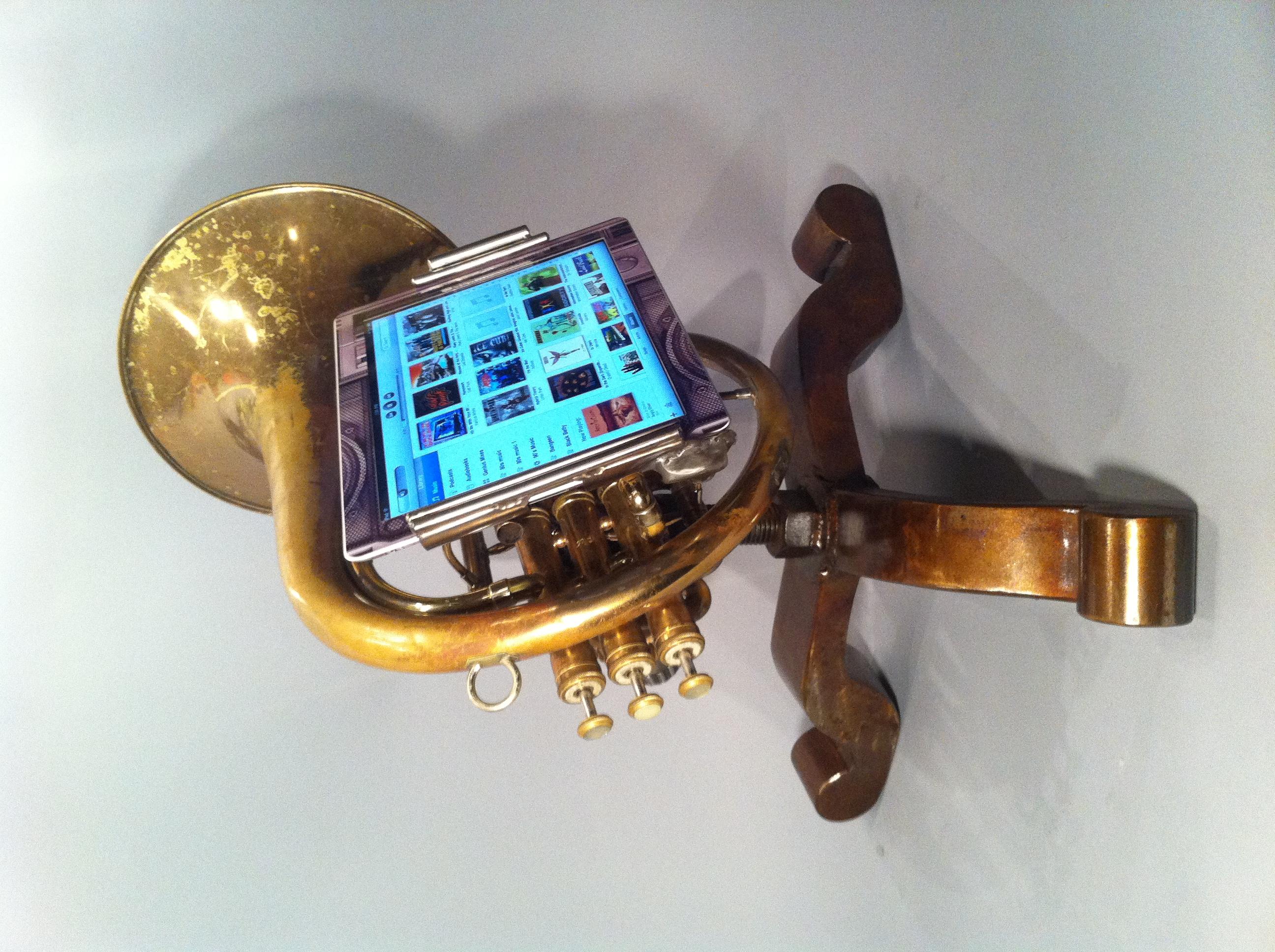 iPhone Trumpet Amplifier