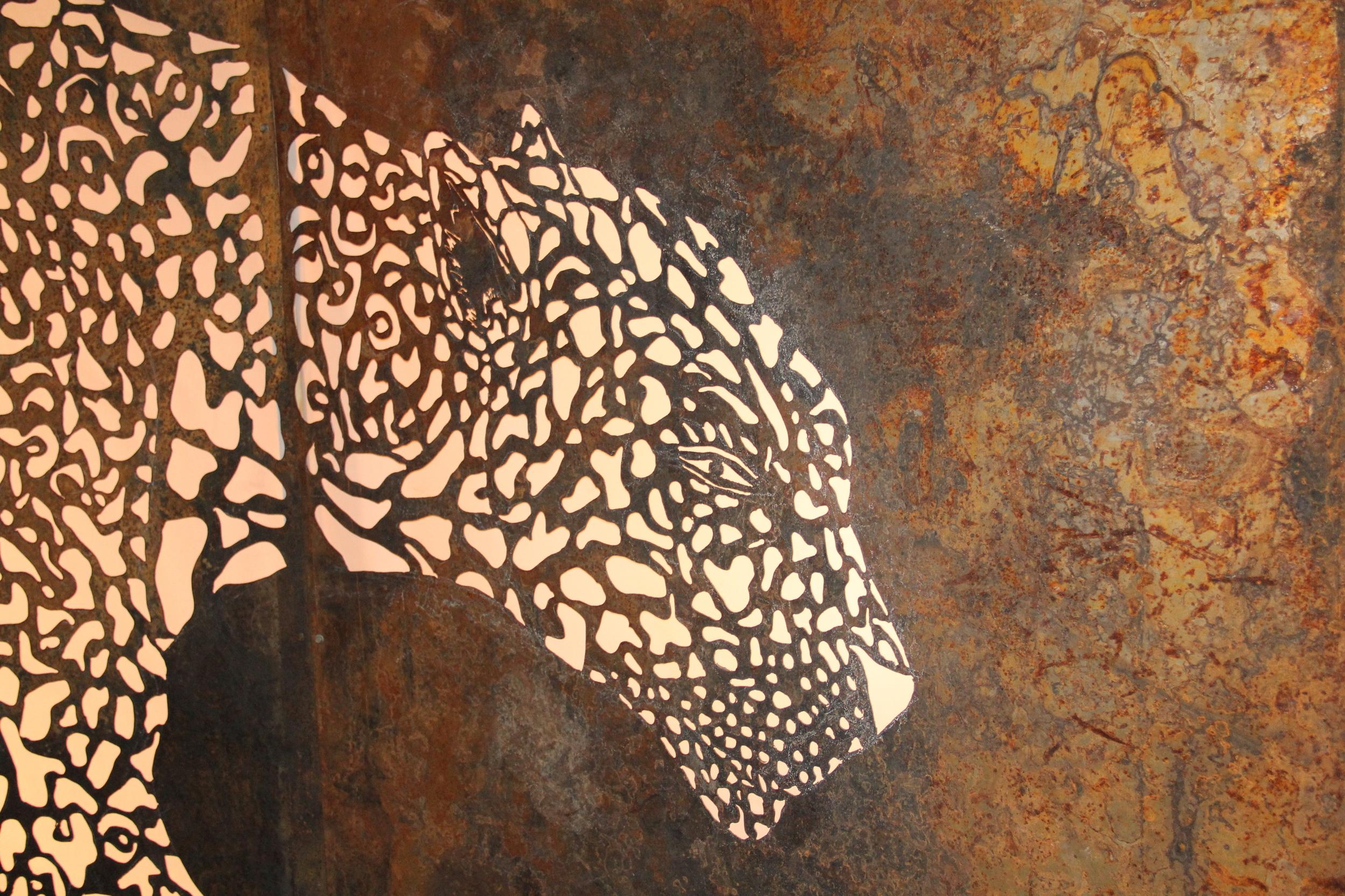 Leopard (detail)