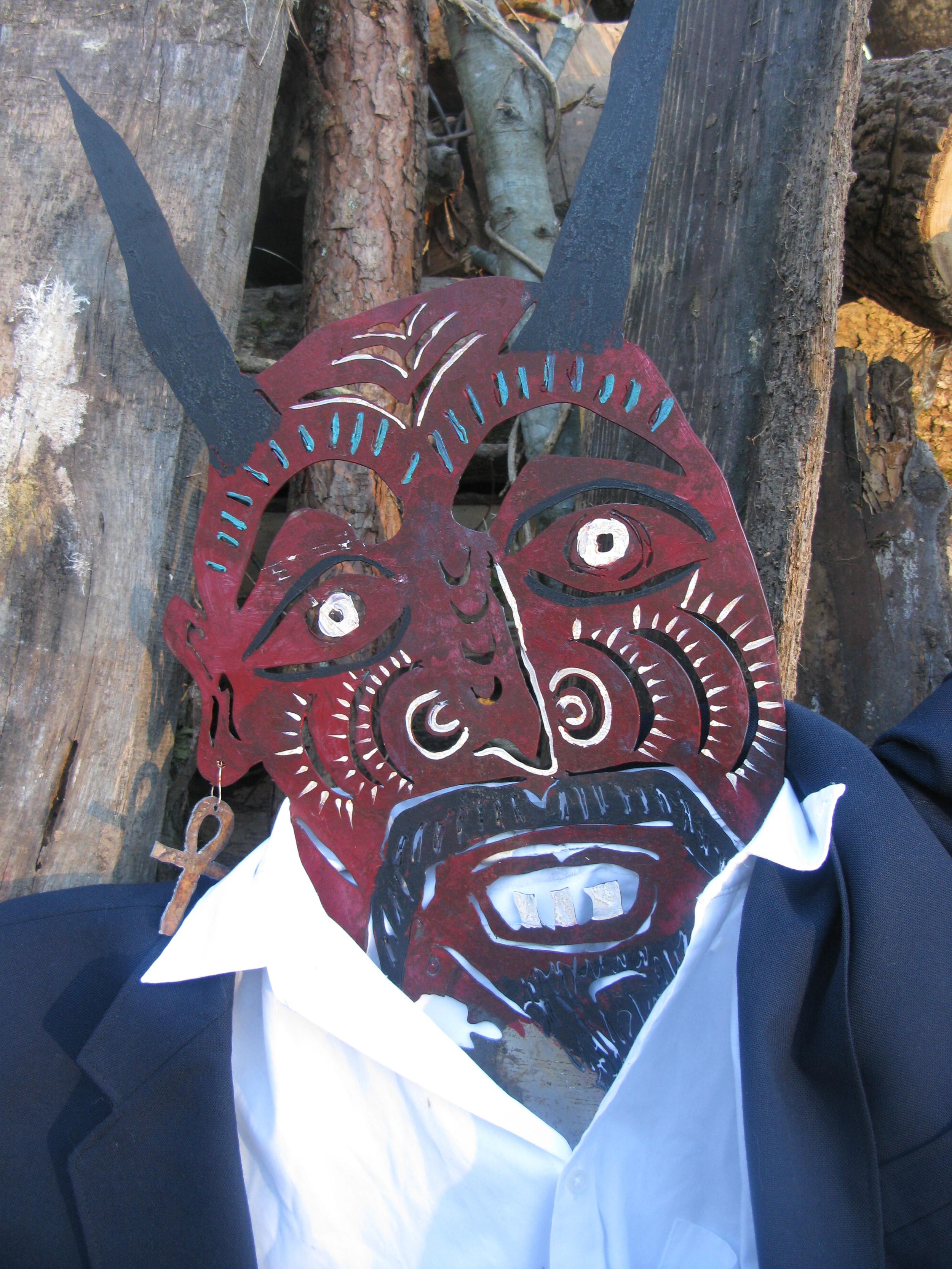 Devil effigy