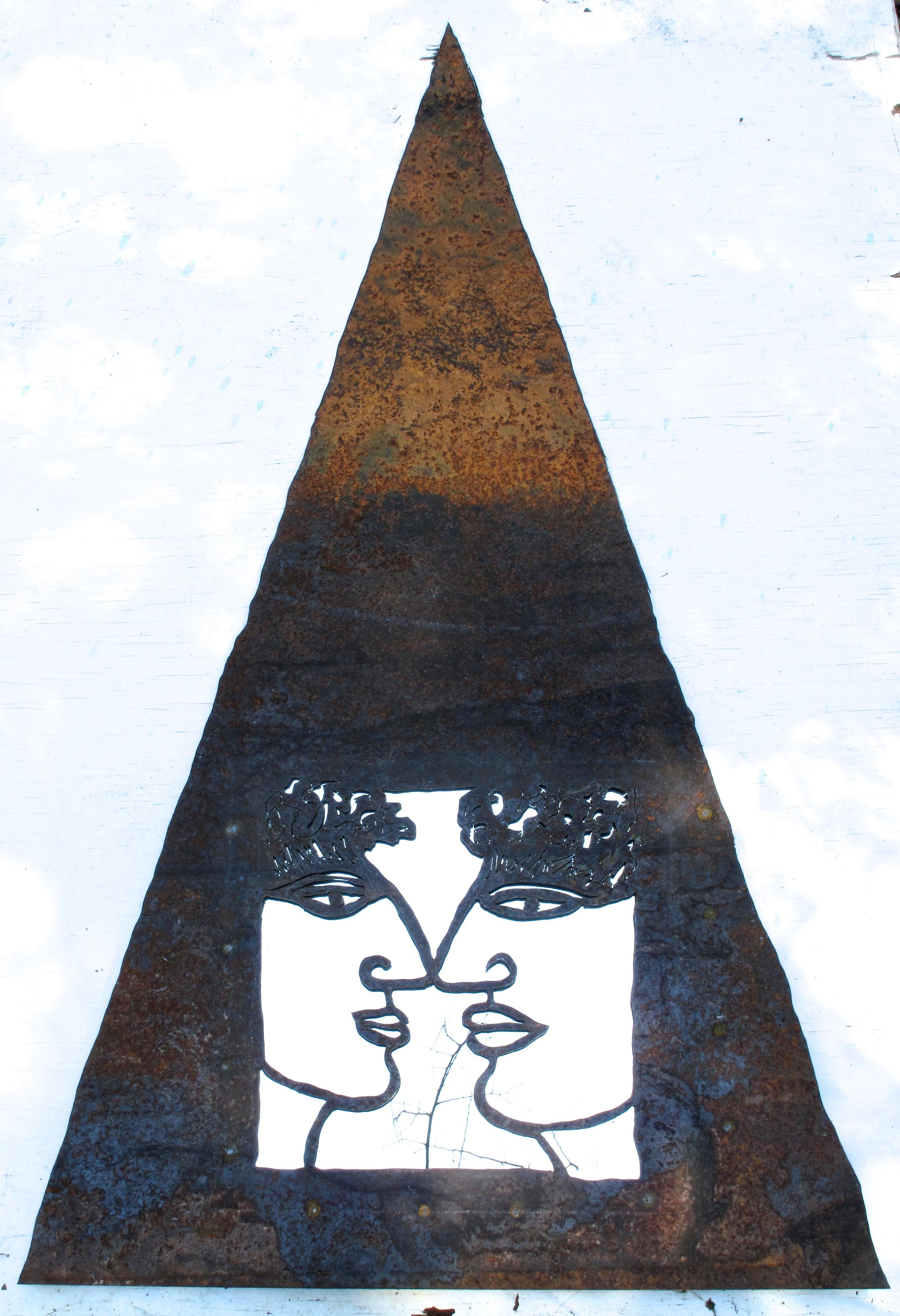 pyramid faces