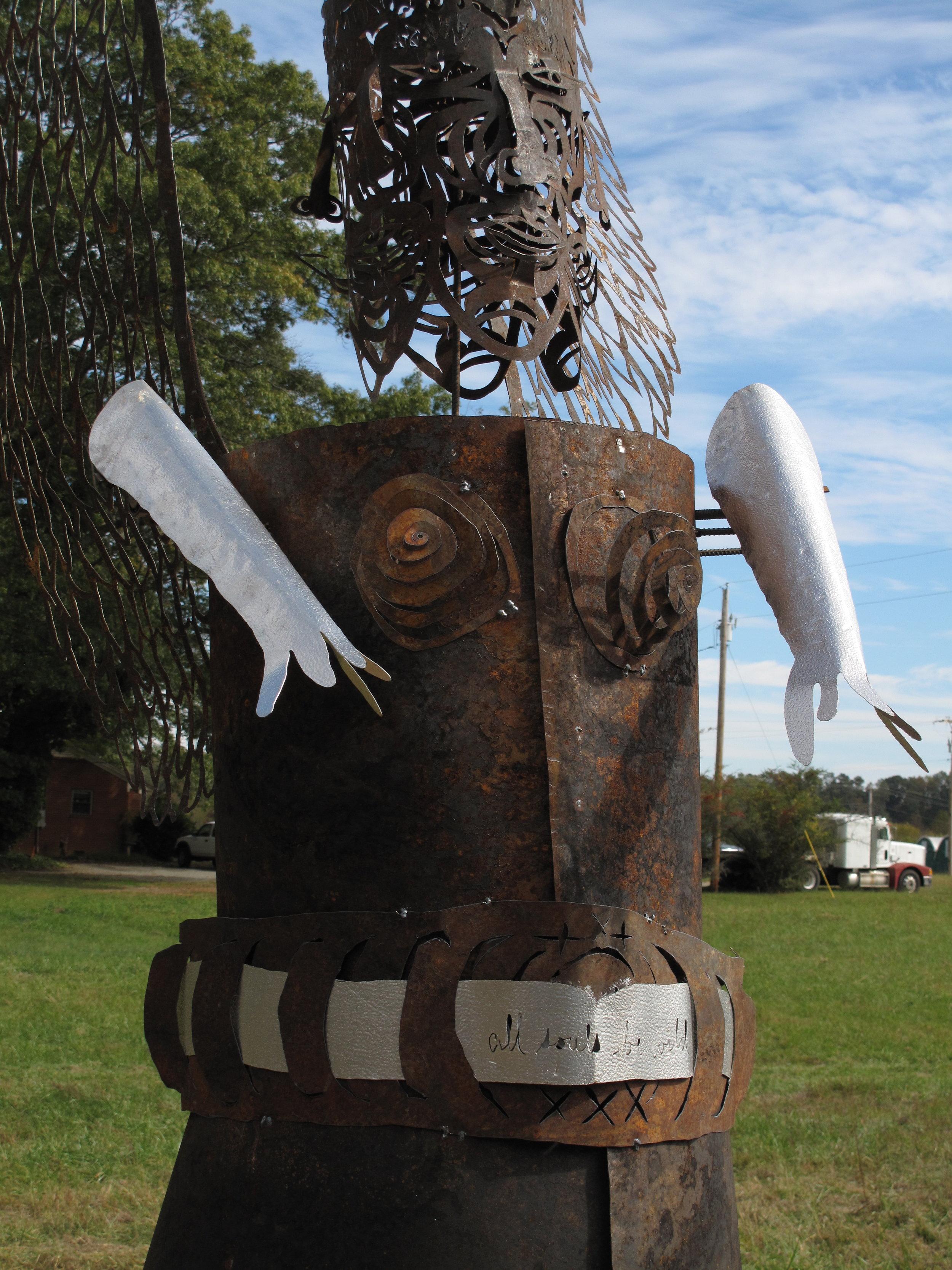 5-faced angel effigy (detail)