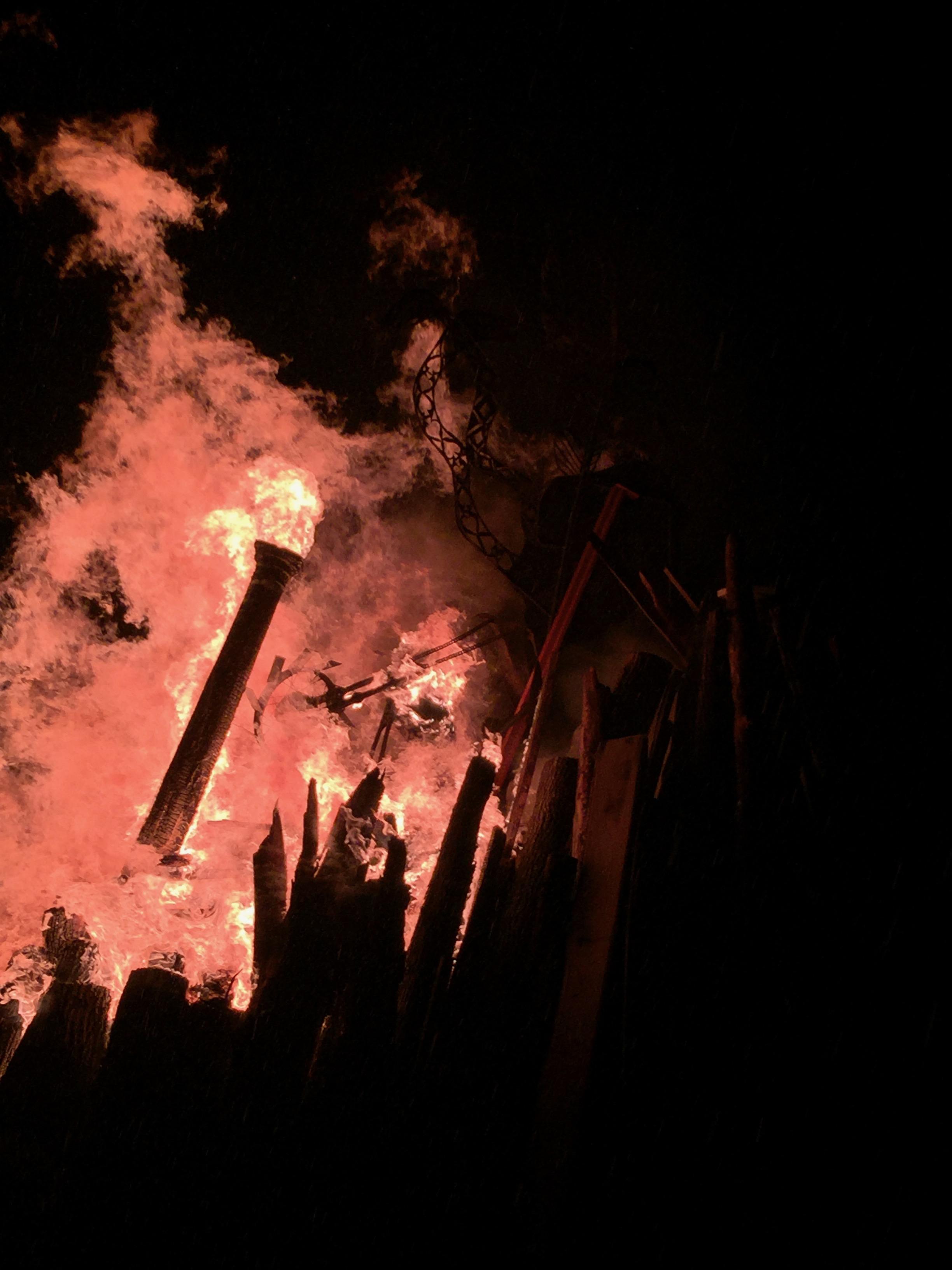effigy (burning)