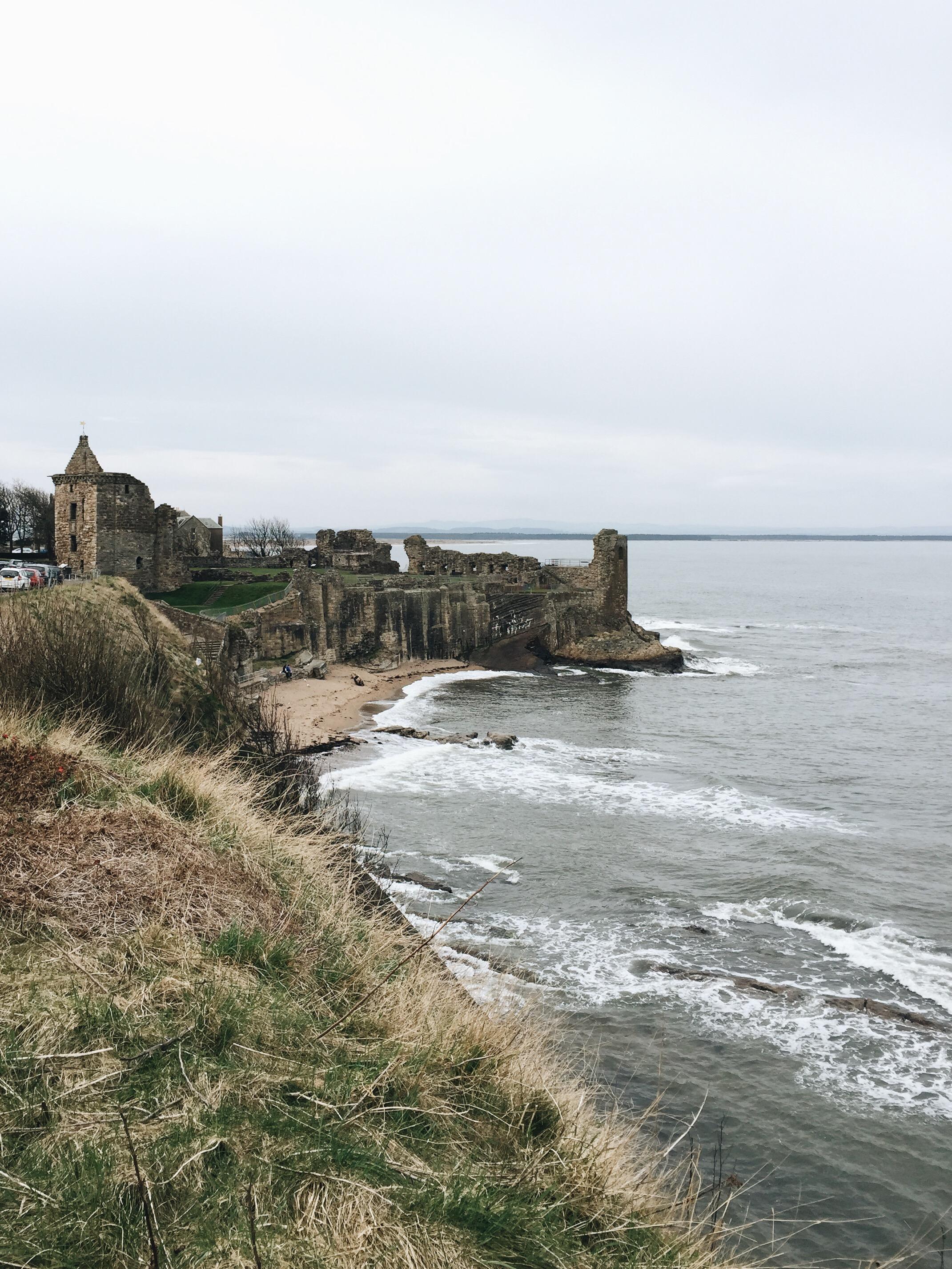 St. Andrew's Castle ruins