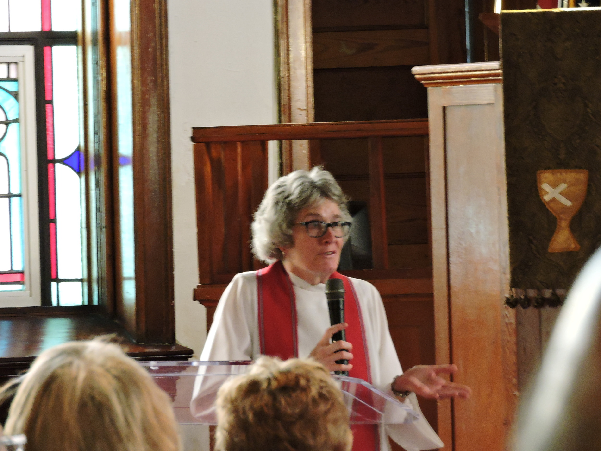 Rev. Margie Pride of Memorial Boulevard Christian Church