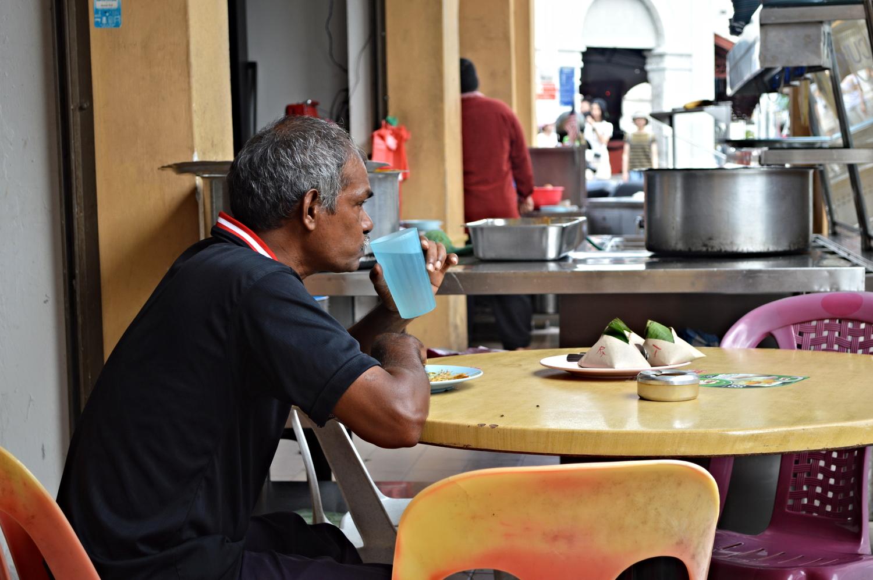 Breakfast; Roti canai - Penang, Malaysia