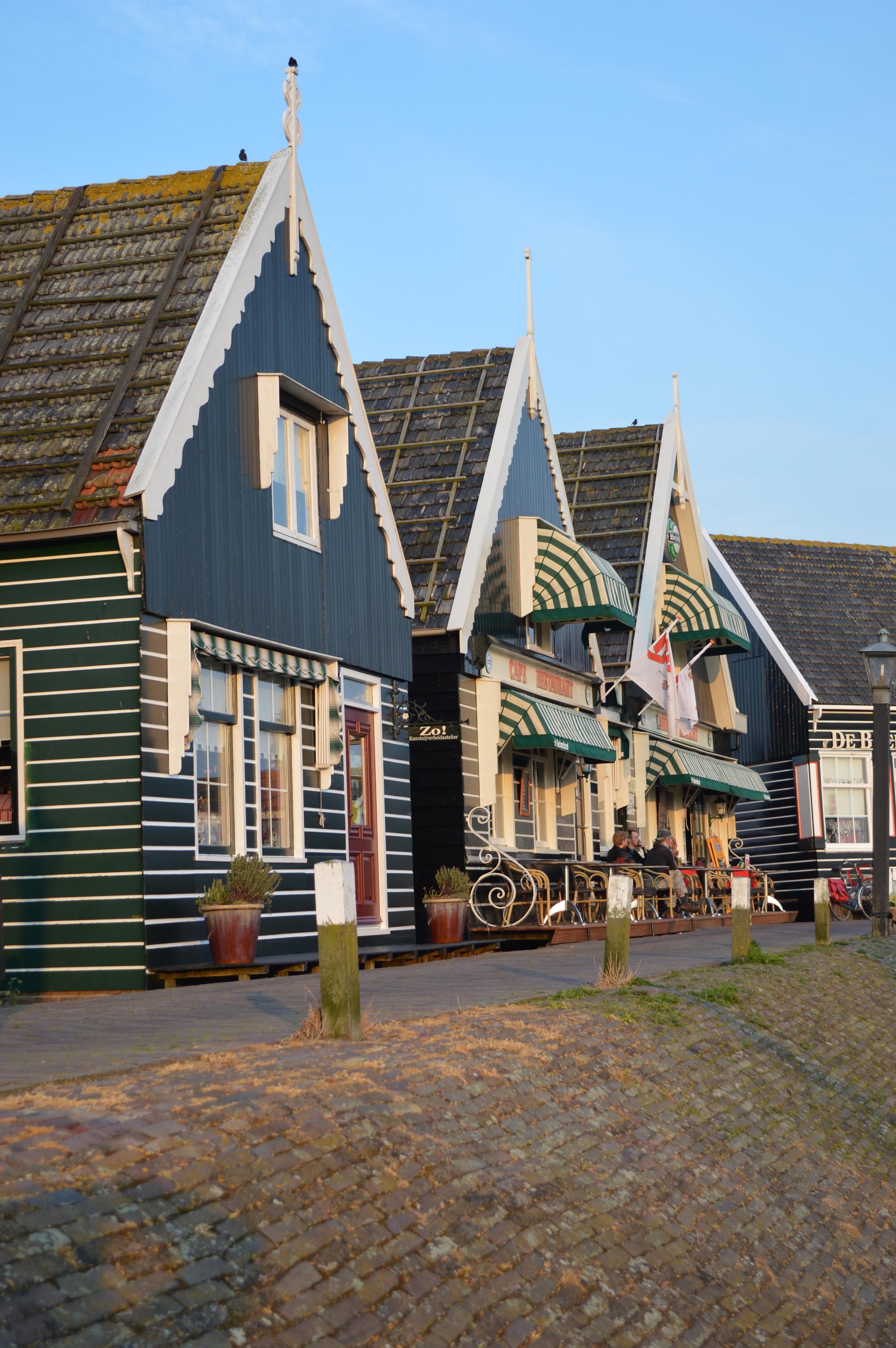 Dutch architecture - Marken, The Netherlands