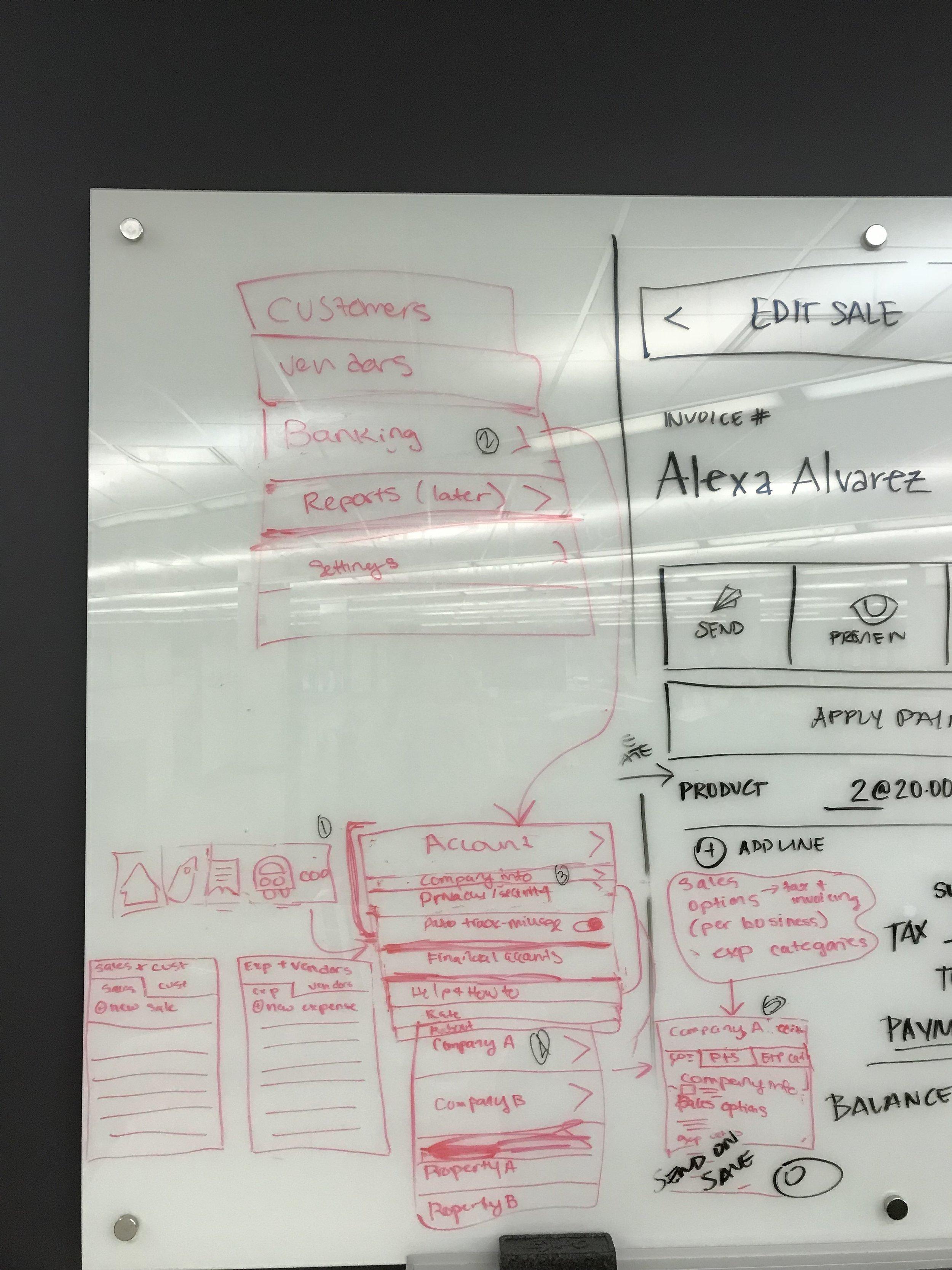IA Brainstorm: Mobile Navigation - More Menu