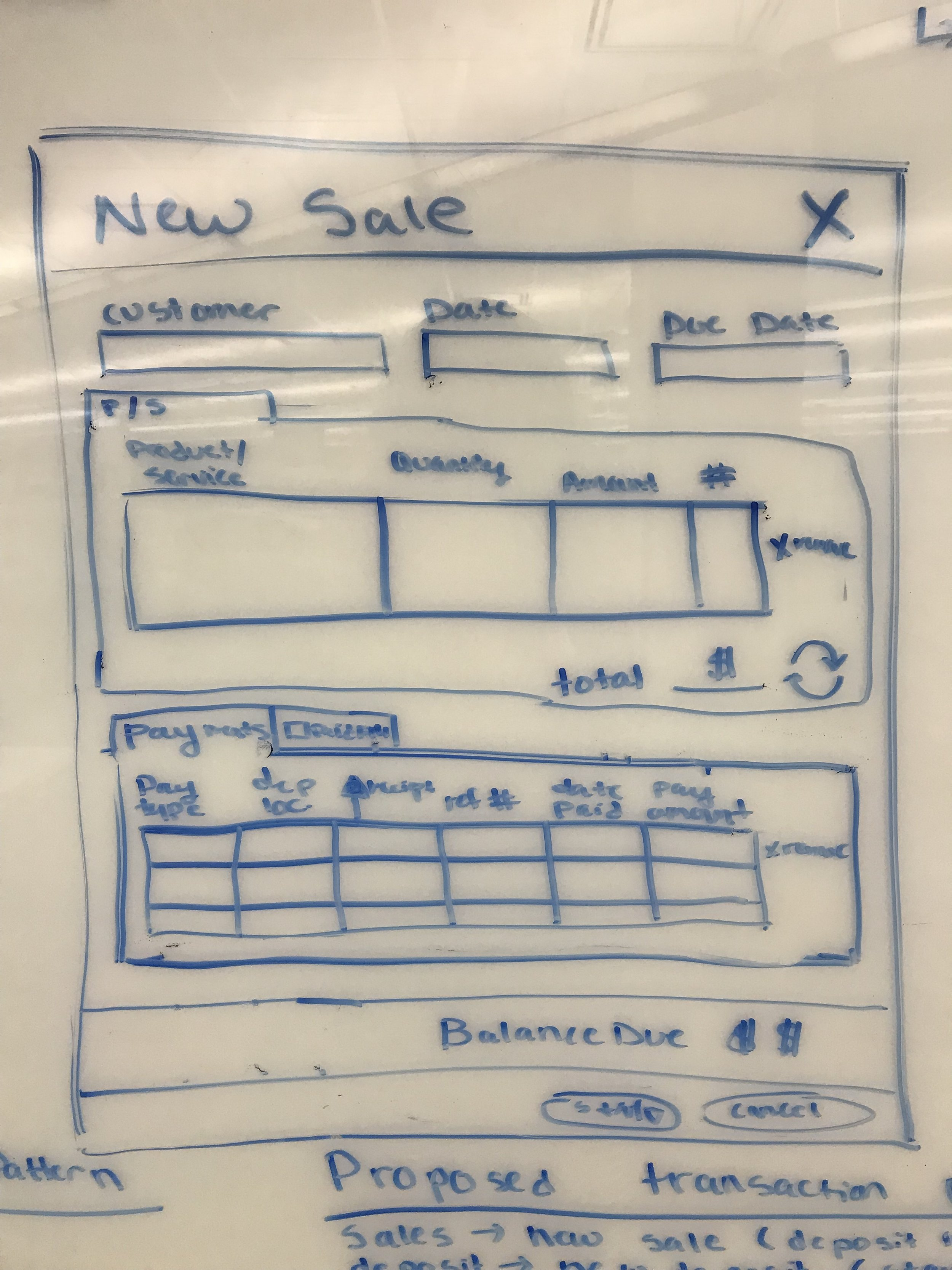 Closeup of Sales and Expenses Workflow 2 of 3