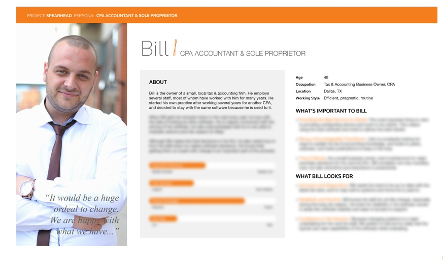 Spearhead User Persona - Bill - Blurred Info.png
