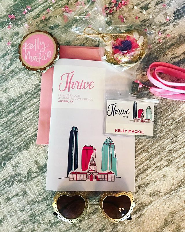 Amazing first day of learning and networking at Thrive! . . . @thrivecreativecon @trinityhallatx #thrivecreativecon #thrivelovesbloggers #austintx
