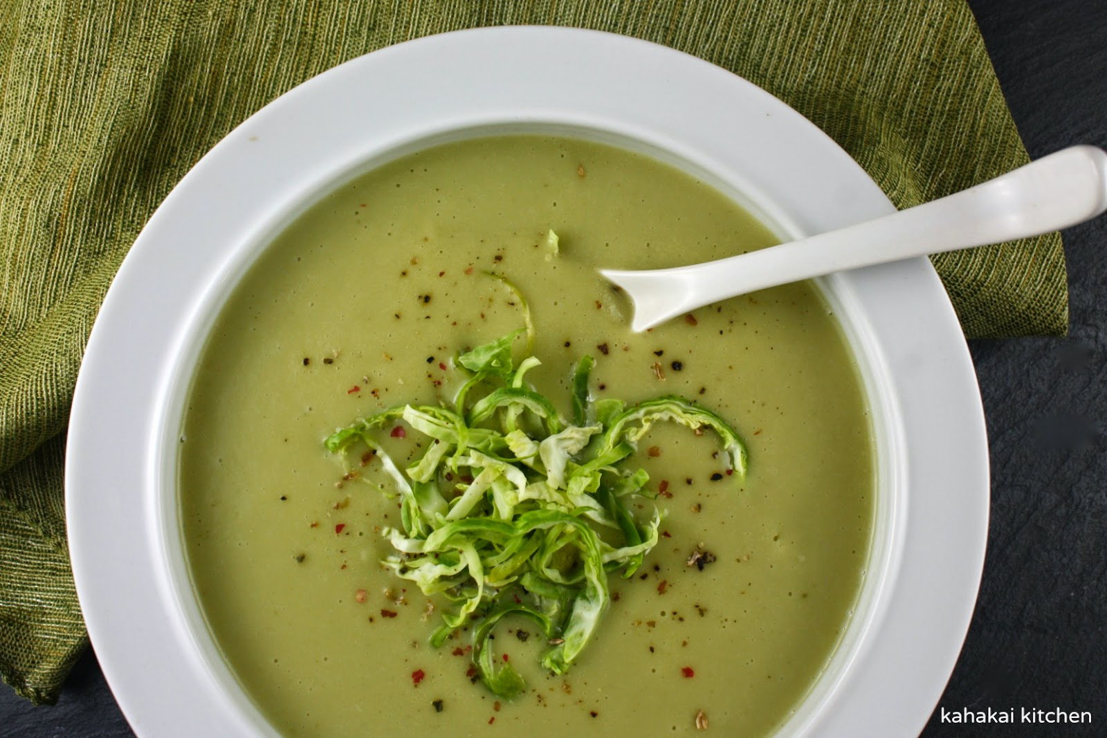 brussel sprout pureed soup