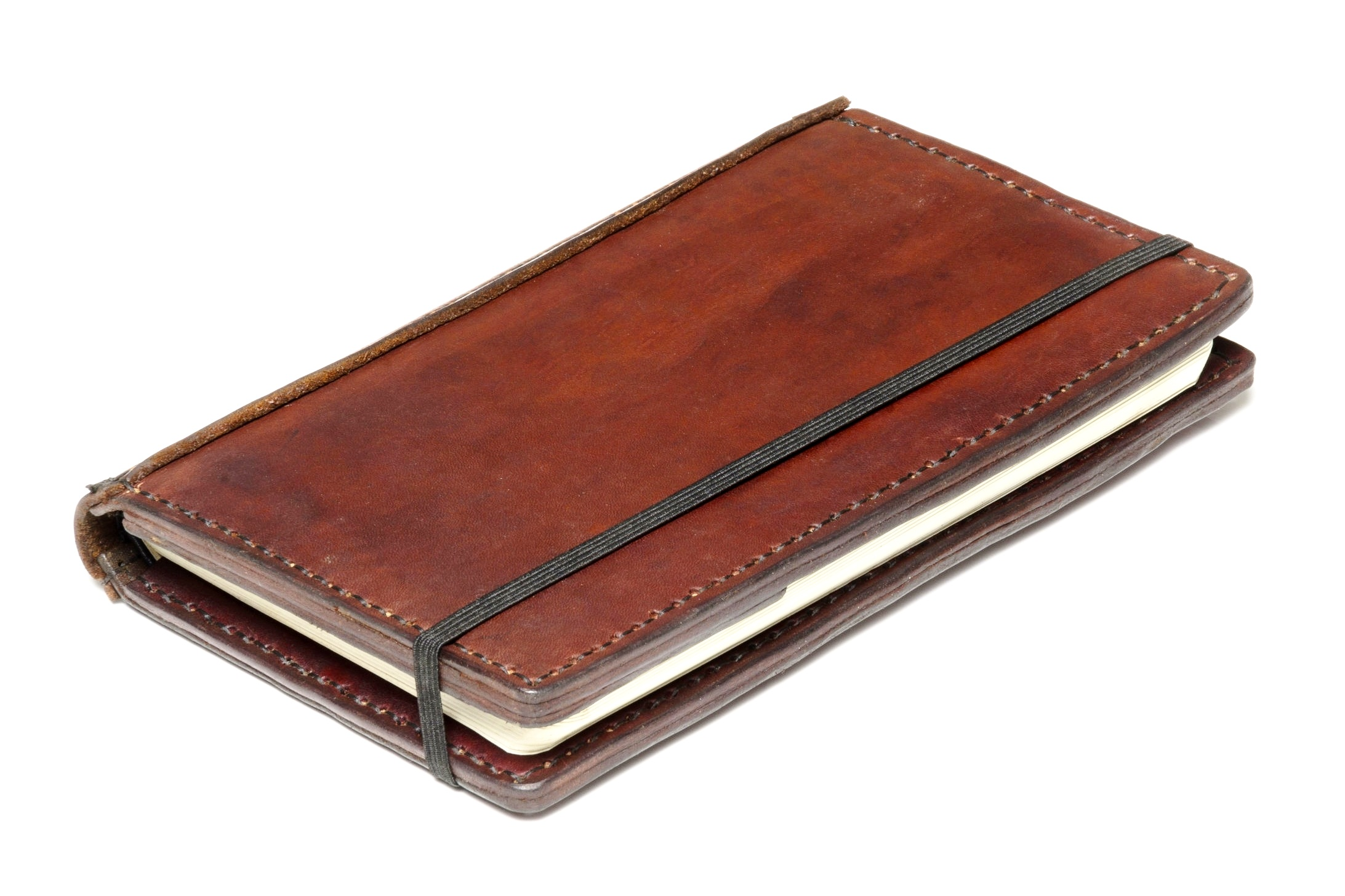 Leather Wrapped Moleskine