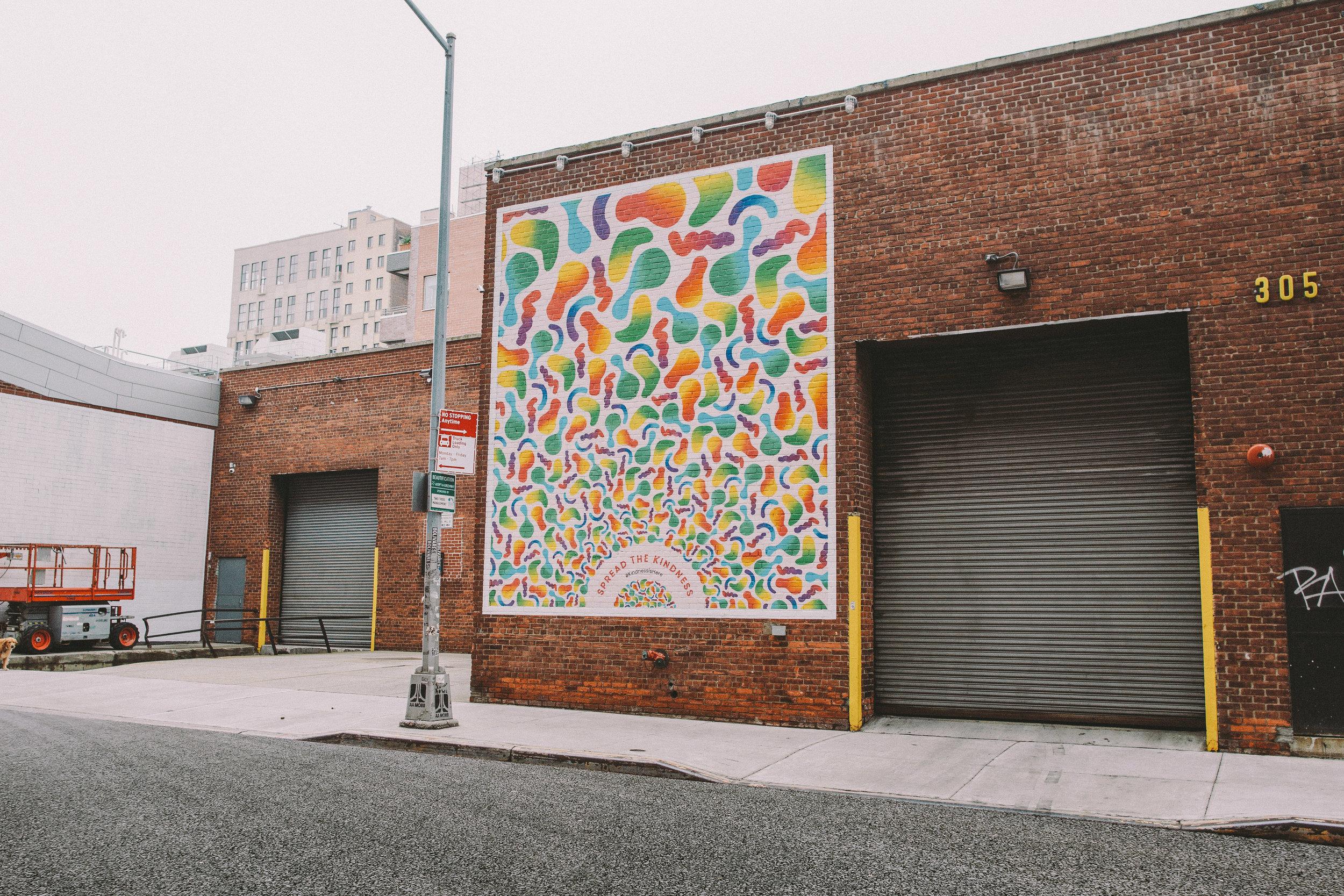 Mural in Williamsburg, Brooklyn