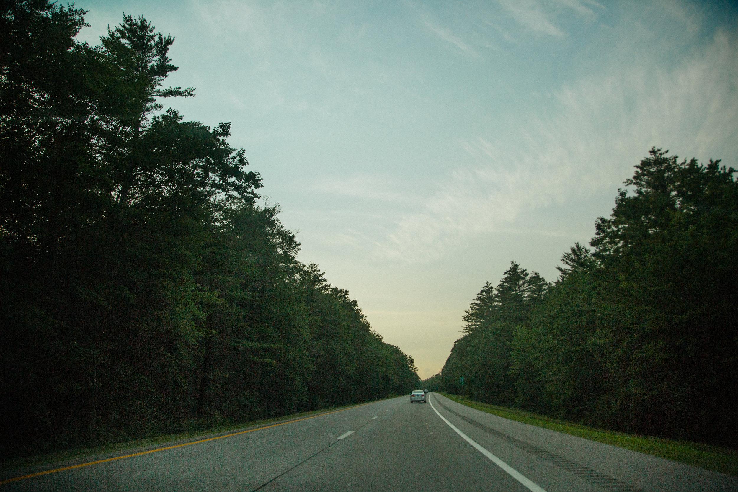Unknown highway.