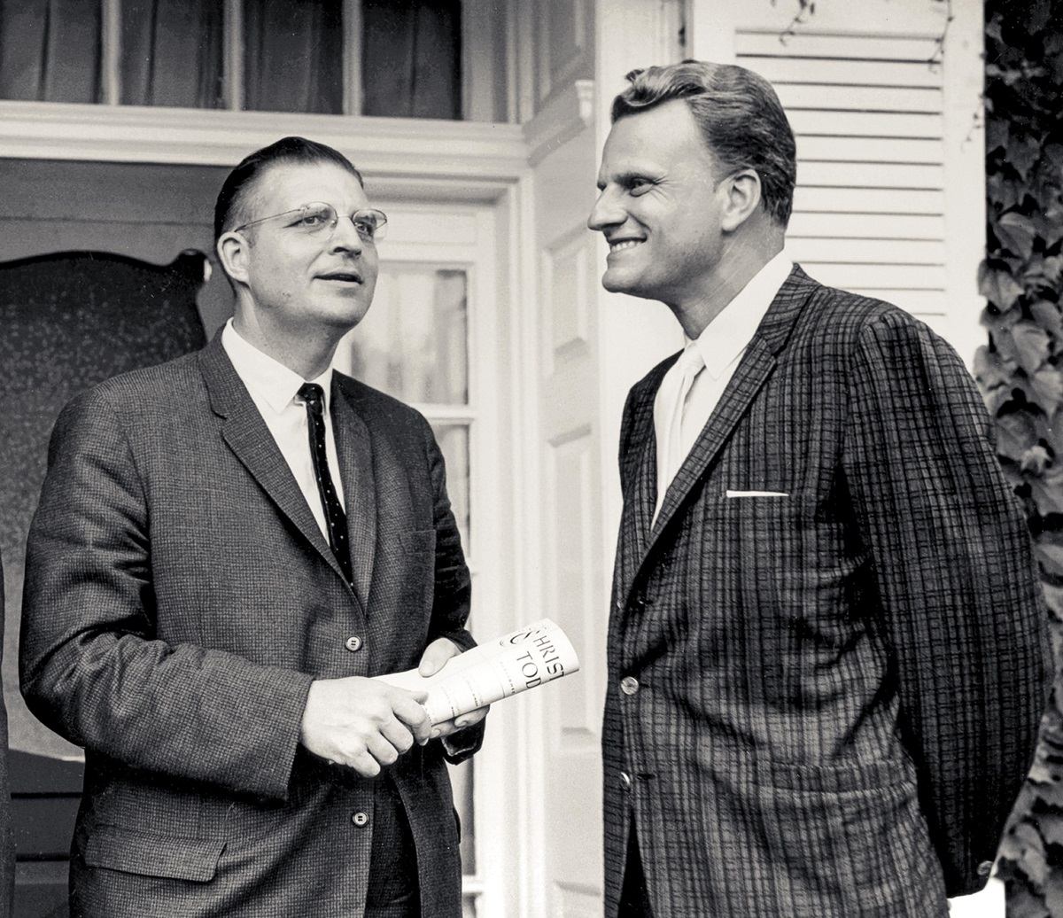 CT's first editors, Carl Henry and Billy Graham.