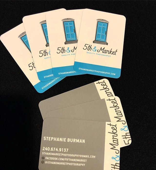 New business cards woop woop!