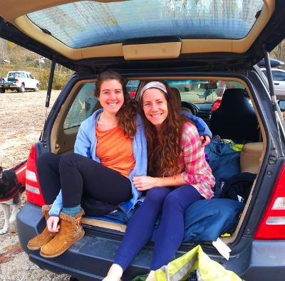 Nicole Millsaps and Lauren Whaley joined for some RRG fun. Photograph by Chris Kreutzer