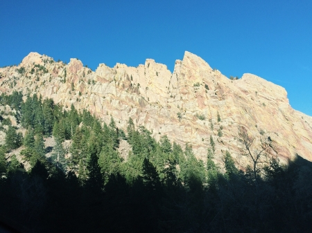 And the world is such an amazingly, spectacular place. Eldorado Canyon, basking in the sun