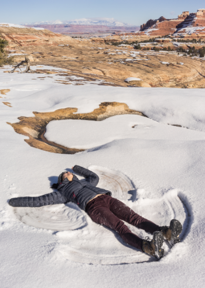 Sunbathing in Moab. Photograph by Daniel Kokoszka