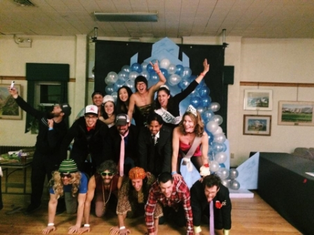 Petzl Prom party at 2015 Ouray Ice Festival. A reunion of old friends and a few new ones, too