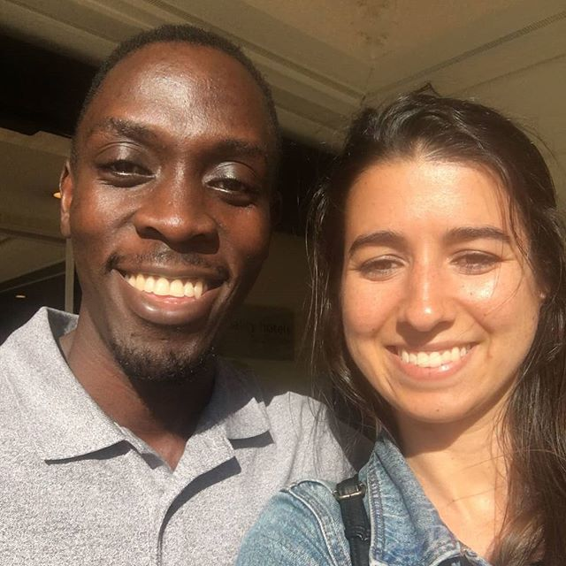 Great kick-off meeting with Solomon from Wezesha Impact. He's here from Uganda and it's his first time on the west coast!  Here he is pictured with Dominique Amiri, our Portfolio Associate for the Global Portfolio.  Wezesha Impact equips youth with the skills to start and grow businesses, find and thrive at jobs, and actively participate civically. Learn more at www.wezeshaimpact.org