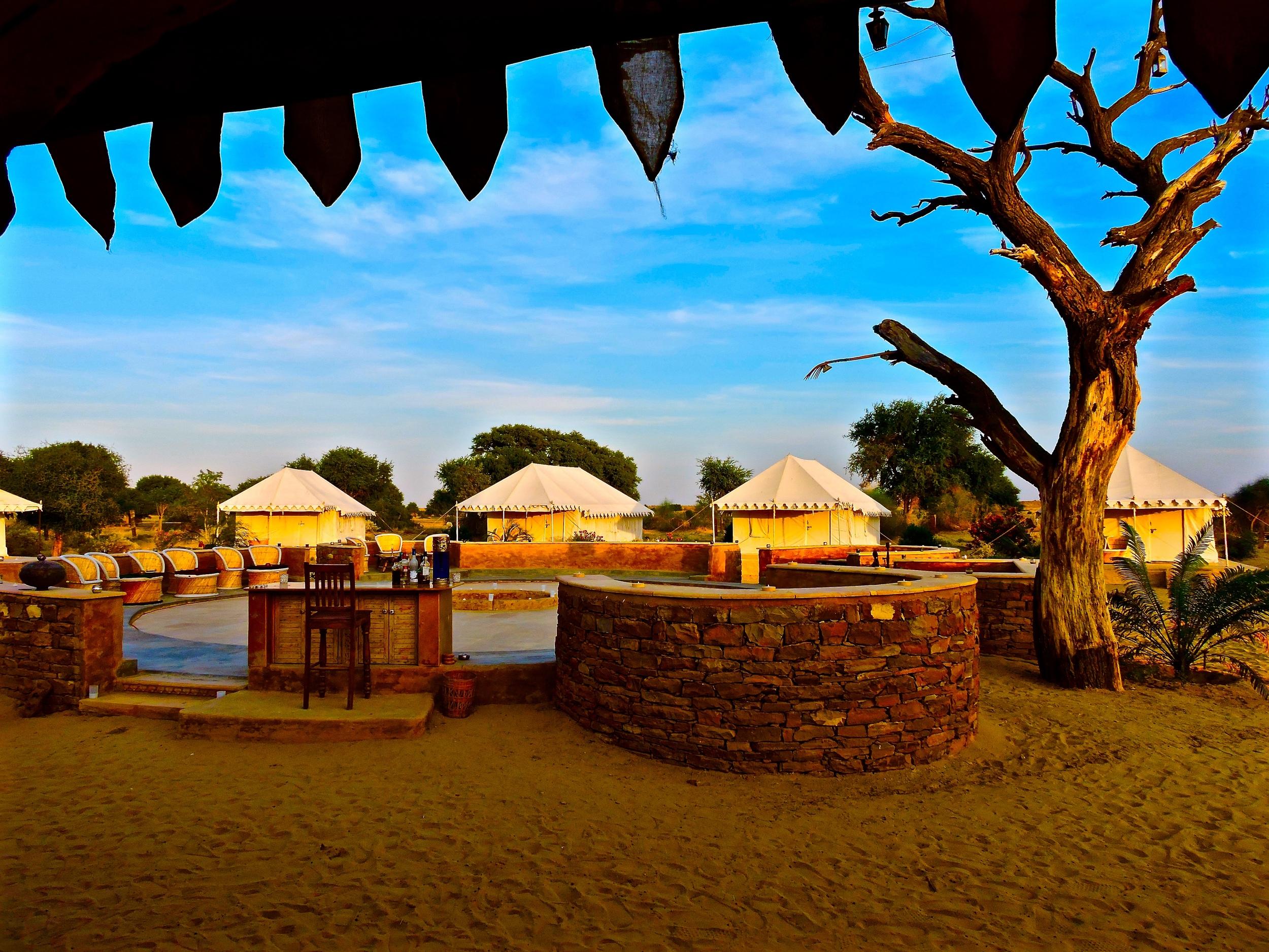 Damodara Desert Camp: Best Camping Sites in Jaisalmer