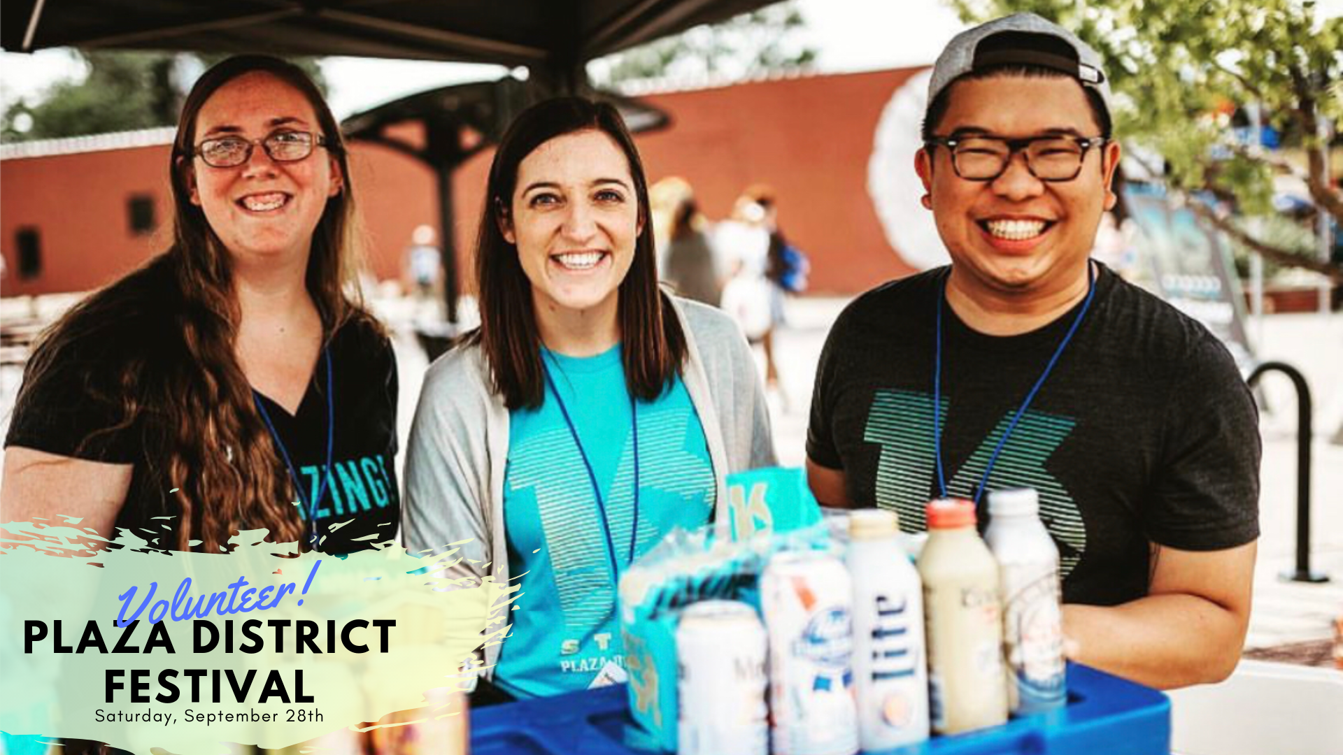 Volunteer at Plaza District Festival! - The Annual Plaza District festival could not happen each year without the support of the surrounding community through volunteering and we'd love for you to join the team. See the full list of volunteering opportunities by following the link below!We are still looking for some awesome volunteers to help out with Plaza District Festival, on Saturday, September 28th!