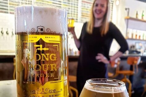 Oak & Ore Craft beer & scratch food- featuring Oklahoma's only Long Pour Lager program -