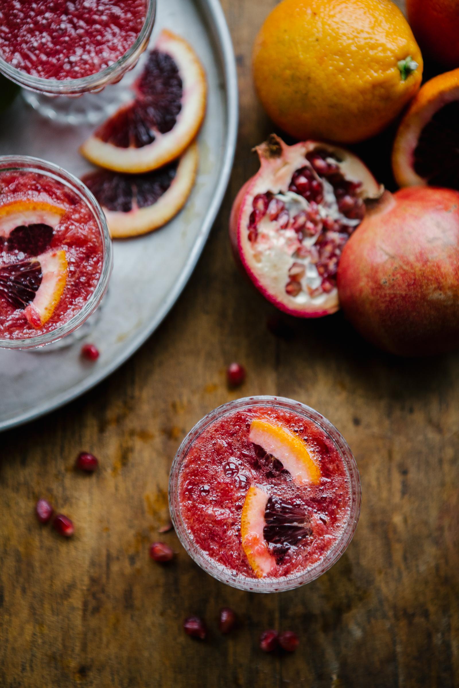 blood-orange mimosa recipe collab featured on  my kitchen love blog