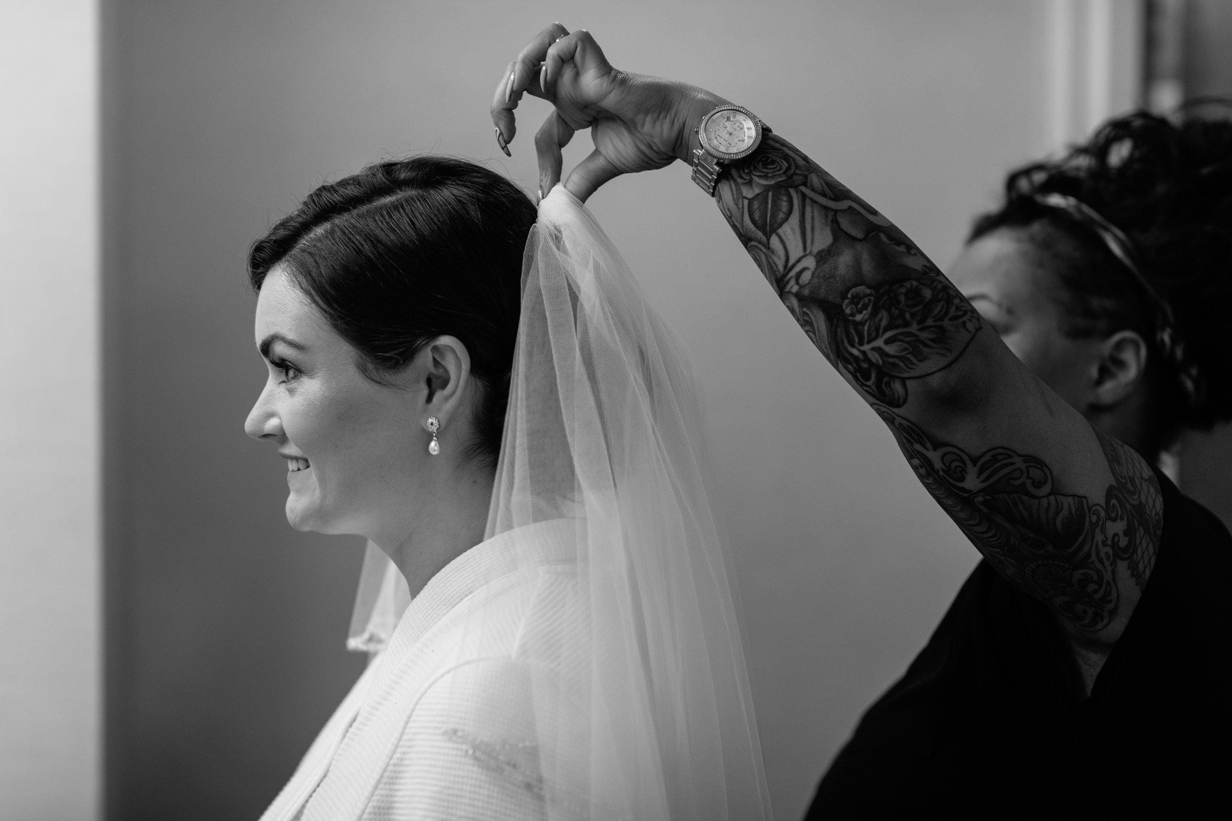 Kerin + Darrell wedding session