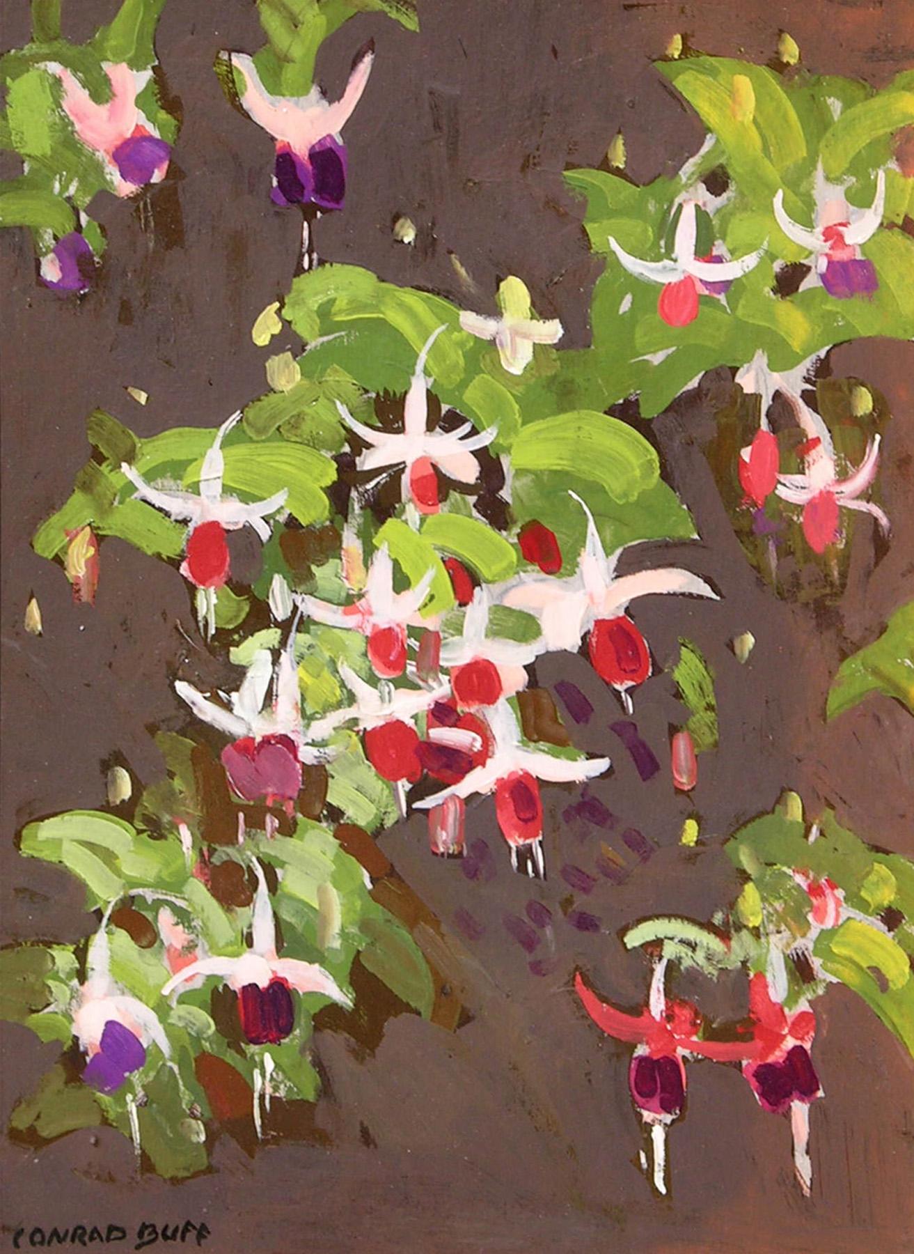 Flowers   /  Oil on Board / 16.25 x 12.25 in.