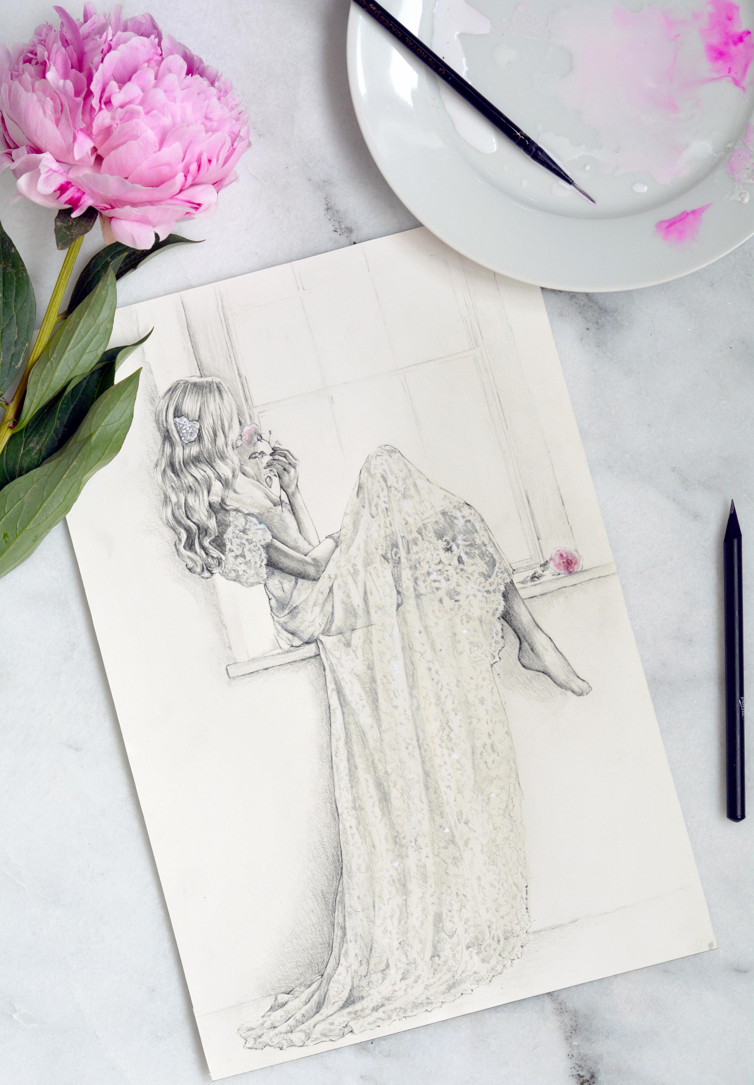 Parchment and Pixel Illustrations by Annie Havlicek de Sanchez