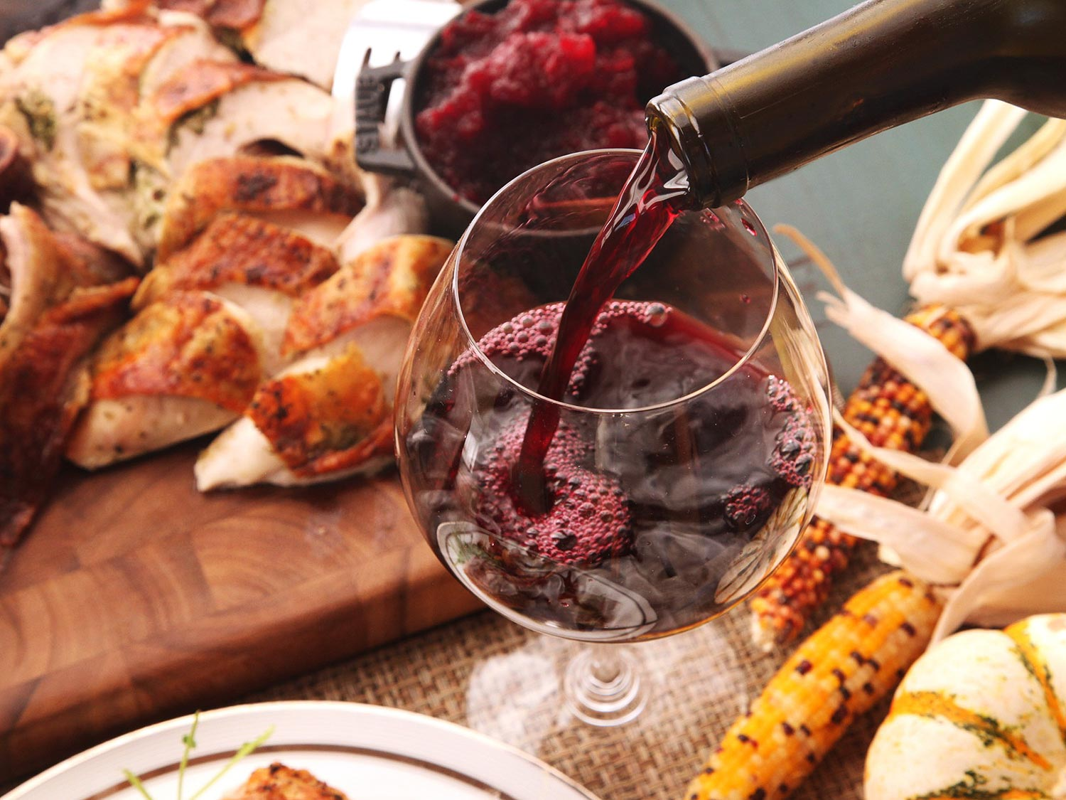 Recommended Thanksgiving wine pairings