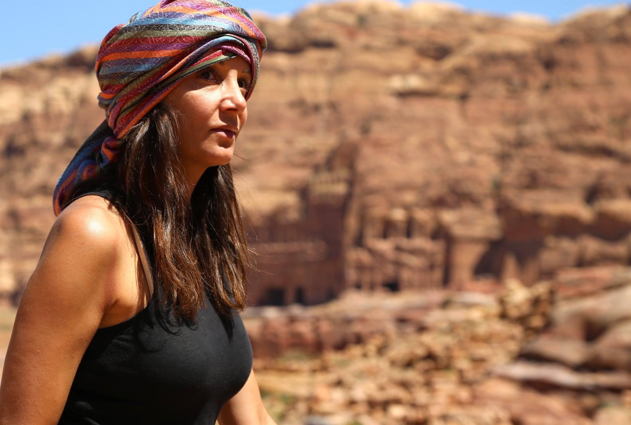 The ancient ruins of Petra in Jordan
