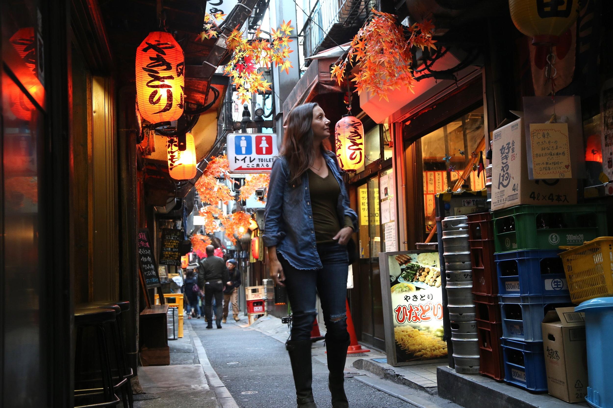 Exploring Piss Alley in Tokyo