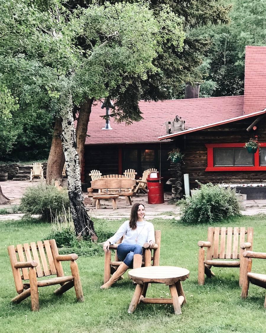 Dude Ranch in Colorado, USA