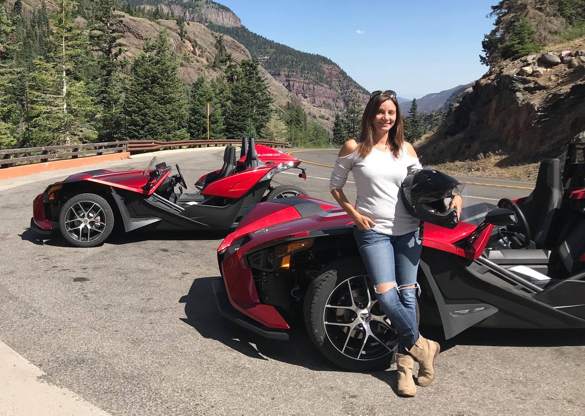 Driving the Million Dollar Highway, Colorado