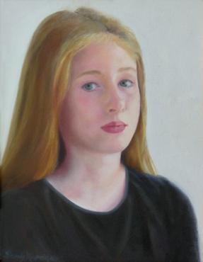 Julia, age 11,  9 x 12