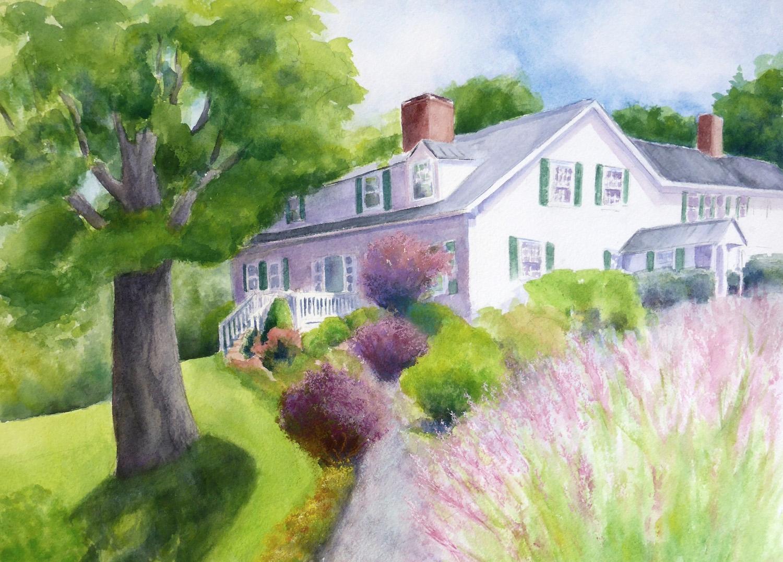 The Nutmeg Inn, New Hampshire , 11 x 14