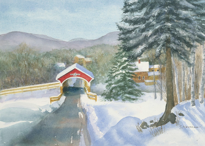Covered Bridge, Lancaster, New Hampshire