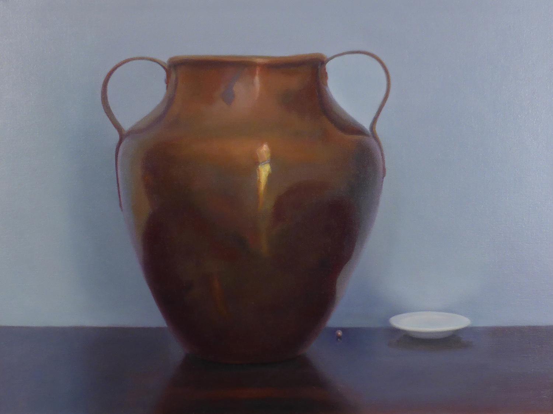 Copper Urn , 18 x 24