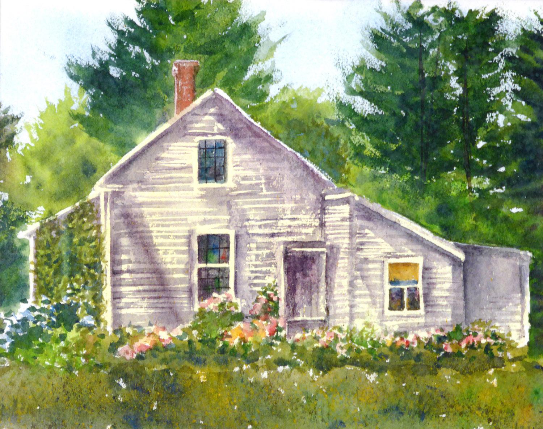 Clapboard House,  11 x 14