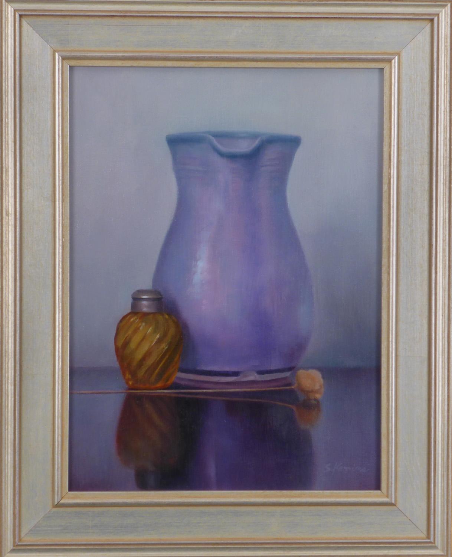 Kamins_Framed_oil_painting_Purple & Amber_9x12.jpg