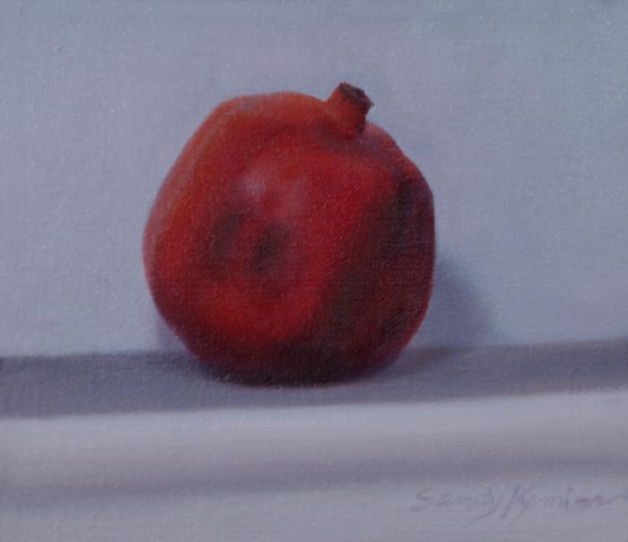 Pomegranite ,6 x 7 inches
