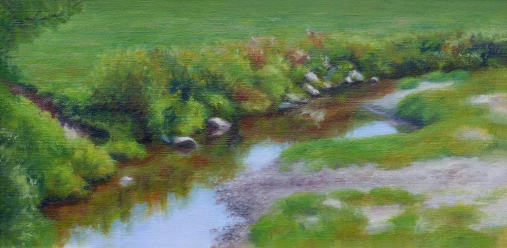 Cow path, Jefferson, New Hampshire, 6x 12